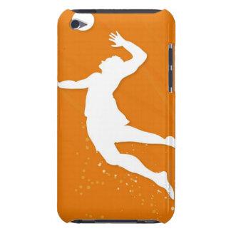 Silhouette av en man som leker volleyboll iPod touch överdrag
