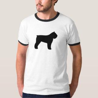 Silhouette för Bouvier des Flandres T-shirt