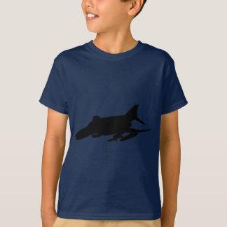 Silhouette för fantom F4 T-shirt