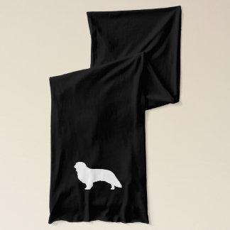 Silhouette för Spaniel för engelsk leksak Sjal