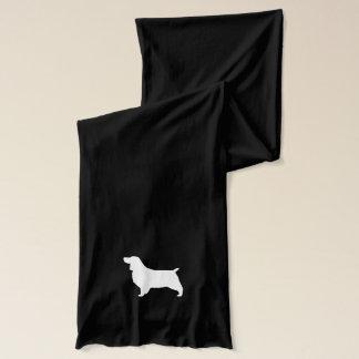 Silhouette för Spaniel för engelsk Springer Halsduk