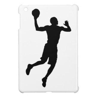 Silhouette för spelare för popkonstbasket iPad mini fodral
