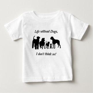 Silhouetten för svarten för hundavelgruppen lurar t shirt
