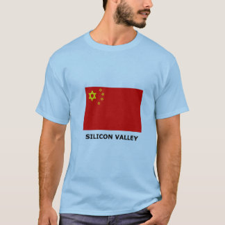 Silicon Valley flaggaT-tröja T-shirts