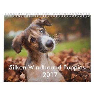 Silken valpkalender 2017 kalender