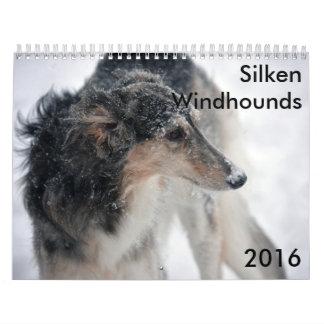 Silken Windhounds kalender för 10 2016