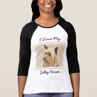 Silkeslen Terrier Tshirts