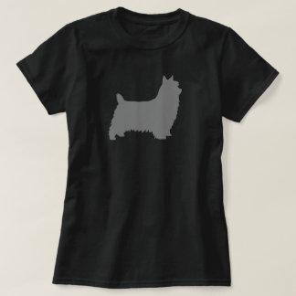 Silkeslen TerrierSilhouette Tee Shirt