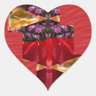 SILKESLENT rött tyg blommar LOWPRICE n-diagramKONS Klistermärke