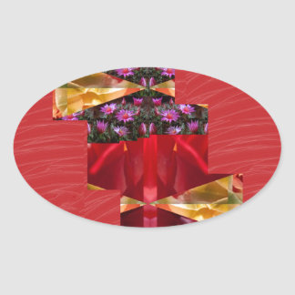 SILKESLENT rött tyg blommar LOWPRICE n-diagramKONS Klistermärken