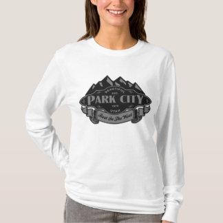 Silver för Park City bergEmblem Tee Shirt