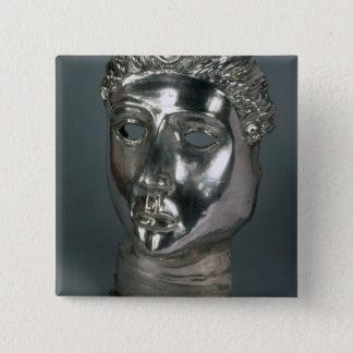 Silver maskerar, romaren, den 1st halvan av den 3r standard kanpp fyrkantig 5.1 cm