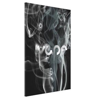 Silver Vape röker Canvastryck