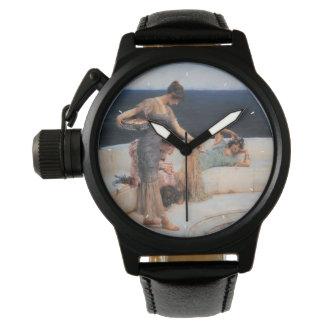 Silverfavoriter av Lawrence Alma-Tadema Armbandsur