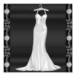 Silverklänningfödelsedagsfest inbjudan