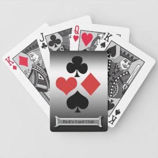 Silverkortet Klubb-Personifierar namn Spelkort