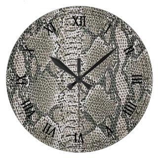 Silverormen flår rundan som romerska tal tar tid stor klocka