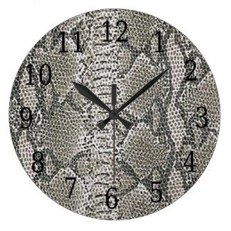 Silverormen flår rundan tar tid på stor klocka
