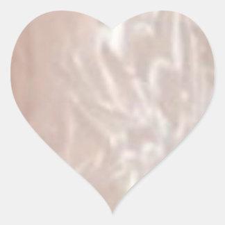 SilverskenLables hjärta Hjärtformat Klistermärke