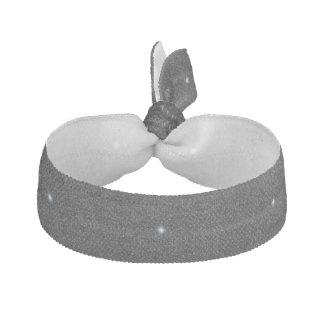 Silverstjärnadesign på svart hårties hårband