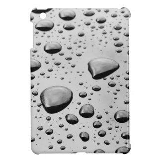 Silvervatten bubblar kortkort i-vadderar fodral iPad mini fodral