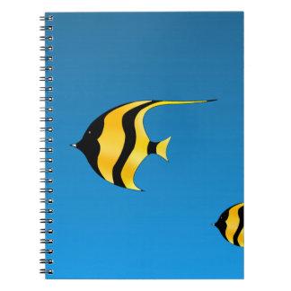 Simma fisken anteckningsbok