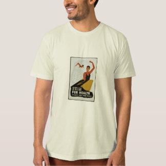 simma för vård- t-shirts