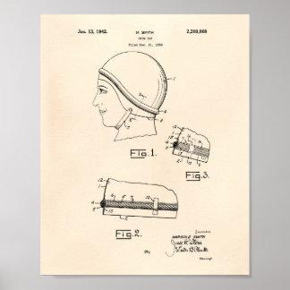 SimmaGap 1942 patenterad konst gammala Peper Poster