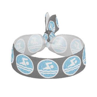 Simmare för simmare- och bassängsimningsymbol hårband