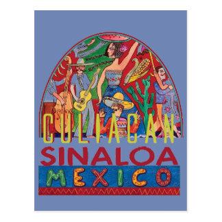 SINALOA Mexico Vykort