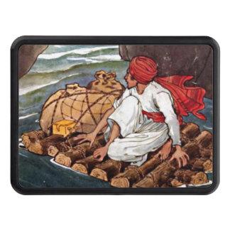 Sinbad illustrationen för sjömanskeppsbrottskatt dragkroksskydd