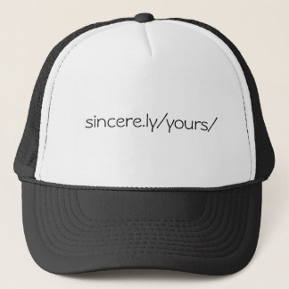 sincere.ly/yours truckerkeps