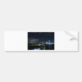 Singapore horisont bildekal