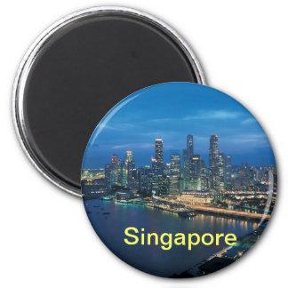 singapore magnet magnet rund 5.7 cm