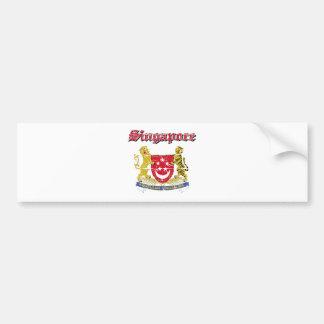 Singapore vapensköld bildekal