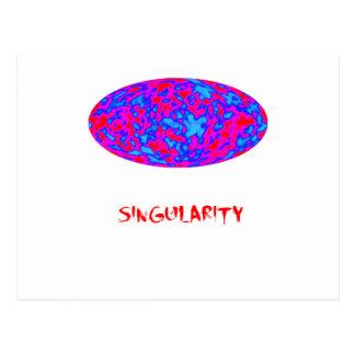 singularity med mikrovågiuniverse vykort