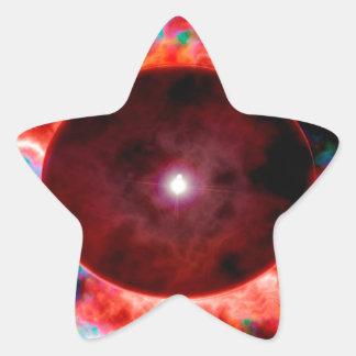 Singularity Stjärnformat Klistermärke