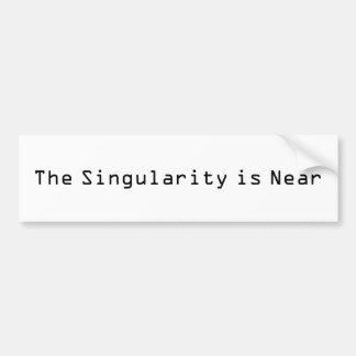 Singularityen är nära bildekal