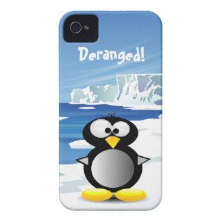 Sinnesrubbad pingvin iPhone 4 Case-Mate fodraler