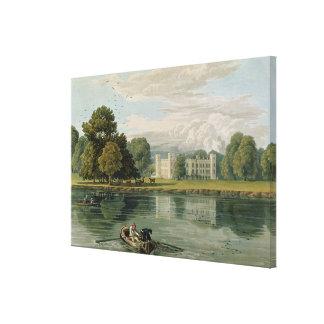 Sion hus som inristas av Robert Havell (1769-1832) Canvastryck
