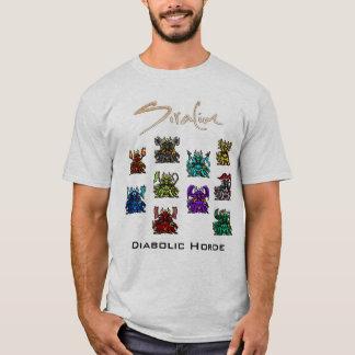 Siralim - djävulsk hordskjorta t shirts