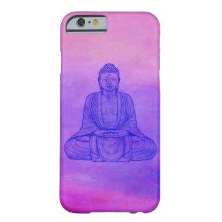 Sitta Buddha på vattenfärg tvättar Barely There iPhone 6 Skal