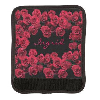 Sjal för handtag för bagage för röd bagagehandtag