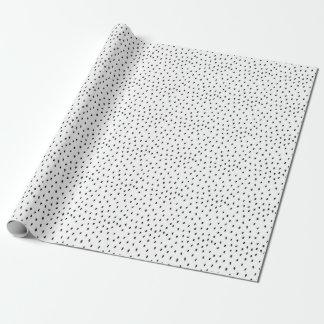 Sjal för klotterfläckgåva presentpapper