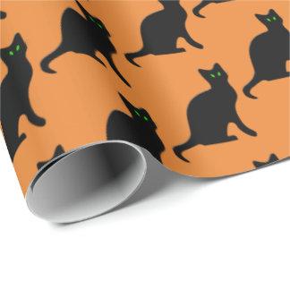 Sjal för party för Halloween svart katt helgdag Presentpapper