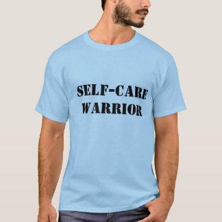 Själv-Omsorg krigareskjorta för manlig Tshirts