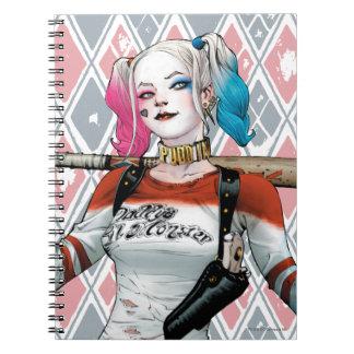 SjälvmordSquad   Harley Quinn Anteckningsbok Med Spiral