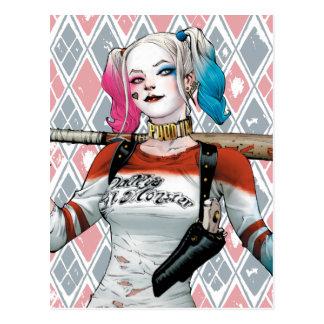 SjälvmordSquad | Harley Quinn Vykort