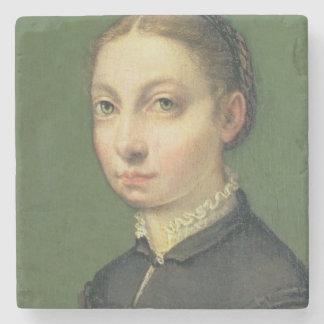 Självporträtt 1554 underlägg sten