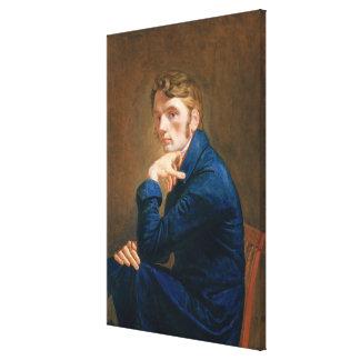 Självporträtt 1805 canvastryck